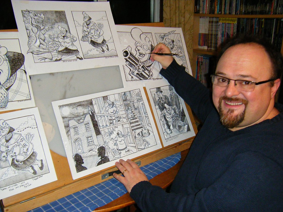 Come Dine With Me cartoonist talks about his Psycho Gran