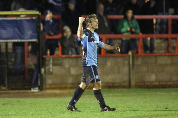 Bucks Free Press: Gareth Ainsworth played in a Berks and Bucks Cup game against Beaconsfield SYCOB this season but has said he won't feature again. Photo by Andrew Rowland