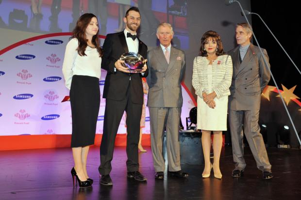 Wycombe entrepreneur wins Prince's Trust award