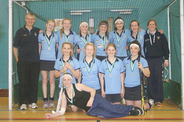 Wycombe HC U16 went to the Indoor National Finals