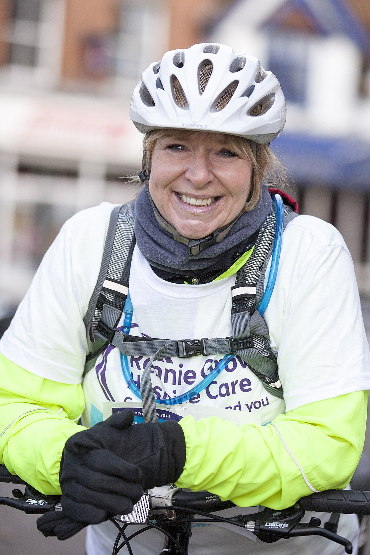Fern leads Cycle Challenge charge