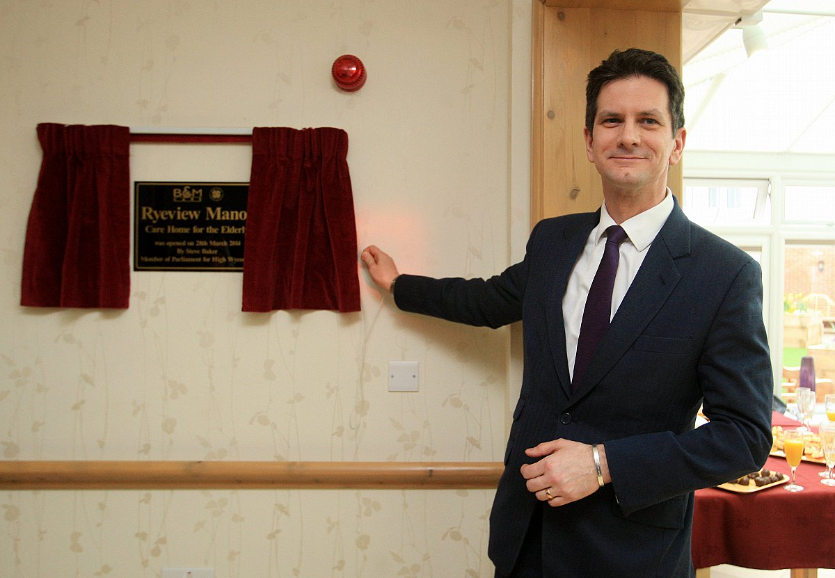 Wycombe MP opens new care home