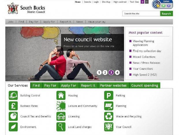 New 'modern' council website