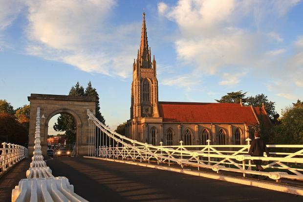 Town named one of UK's most glamorous places to live