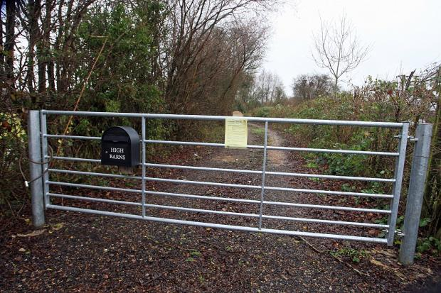 Planning permission for travellers' site refused