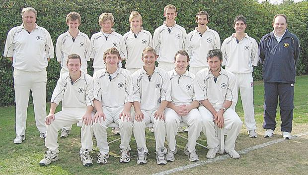 Alex Hales, top row fifth from left, played for Gerrards Cross for five seasons.