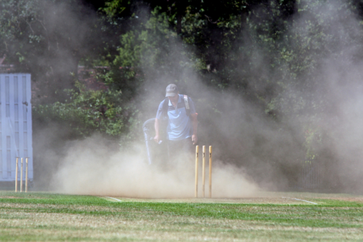 Cricket club urge community to help them beat Mother Nature