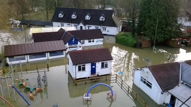 Open Health are hoping to raise £10,000 for Longridge, badly hit in this year's floods