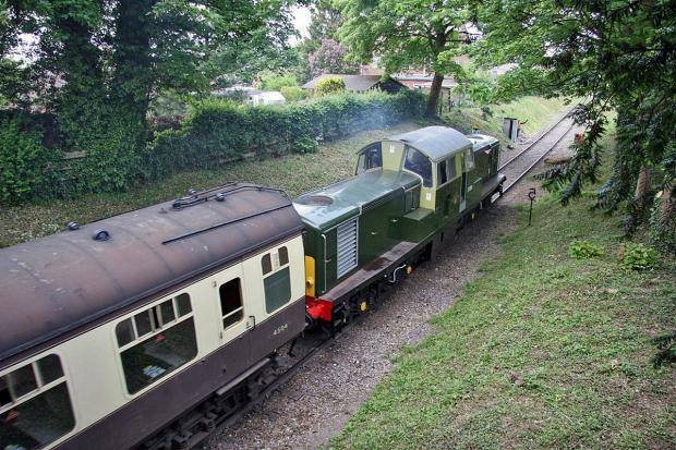 Volunteer railway goes full steam ahead