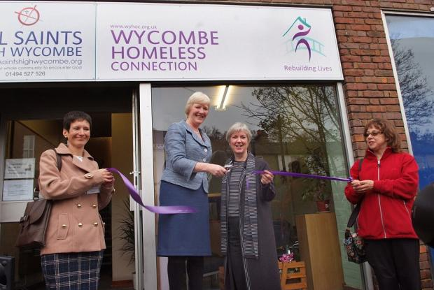 Countess Howe opened The Ground Floor with WHC Chairman Sheena Dykes in November.