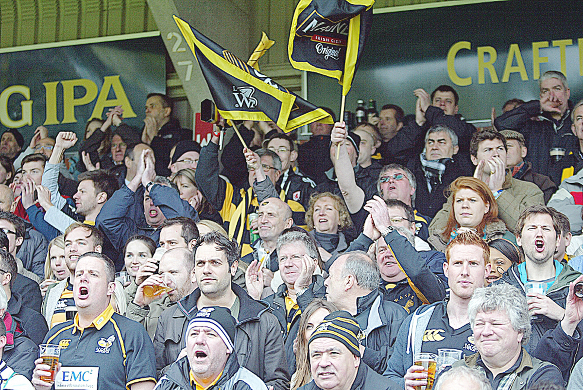Wasps have sold more than 30,000 tickets for Twickenham