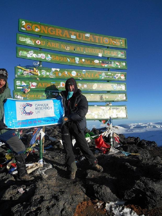 Bucks Free Press: Volcano climber edging closer to record