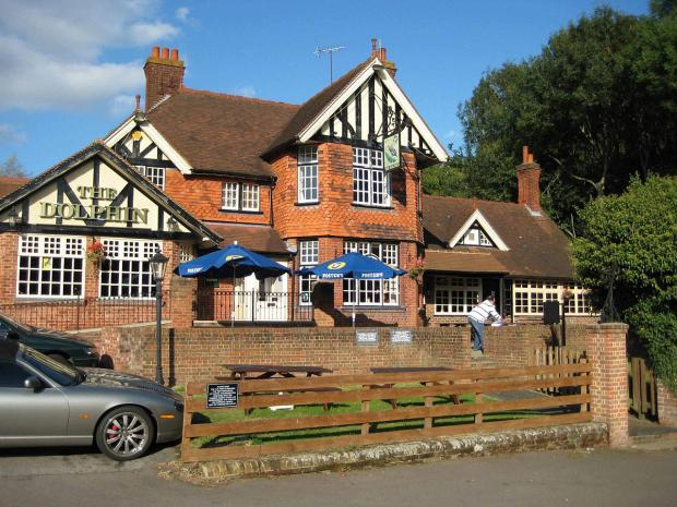 The Dolphin pub in Totteridge