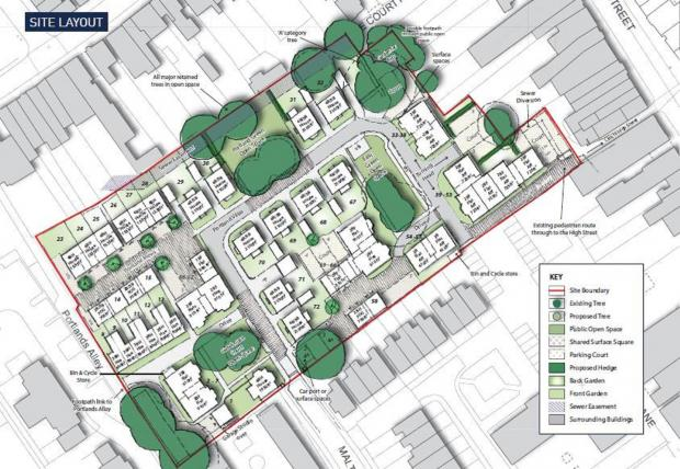 MP gives early backing to town centre housing plan