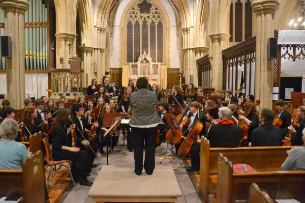 Precocious talent on show at youth concert