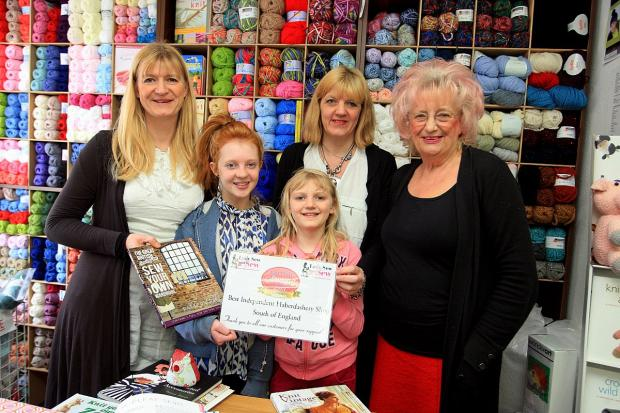 Shop owners sew happy after TV feature