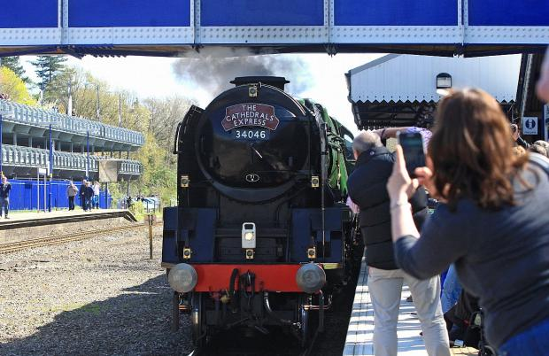 Steam train takes Beaconsfield passengers on a journey