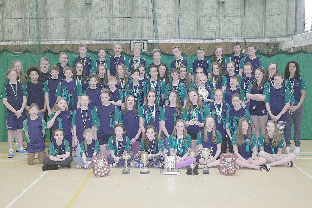 Wycombe District Swimming Club are making fast progress