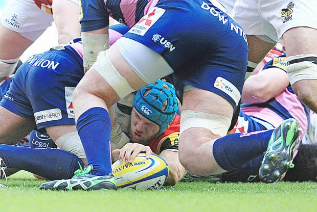 James Haskell is in fantastic form