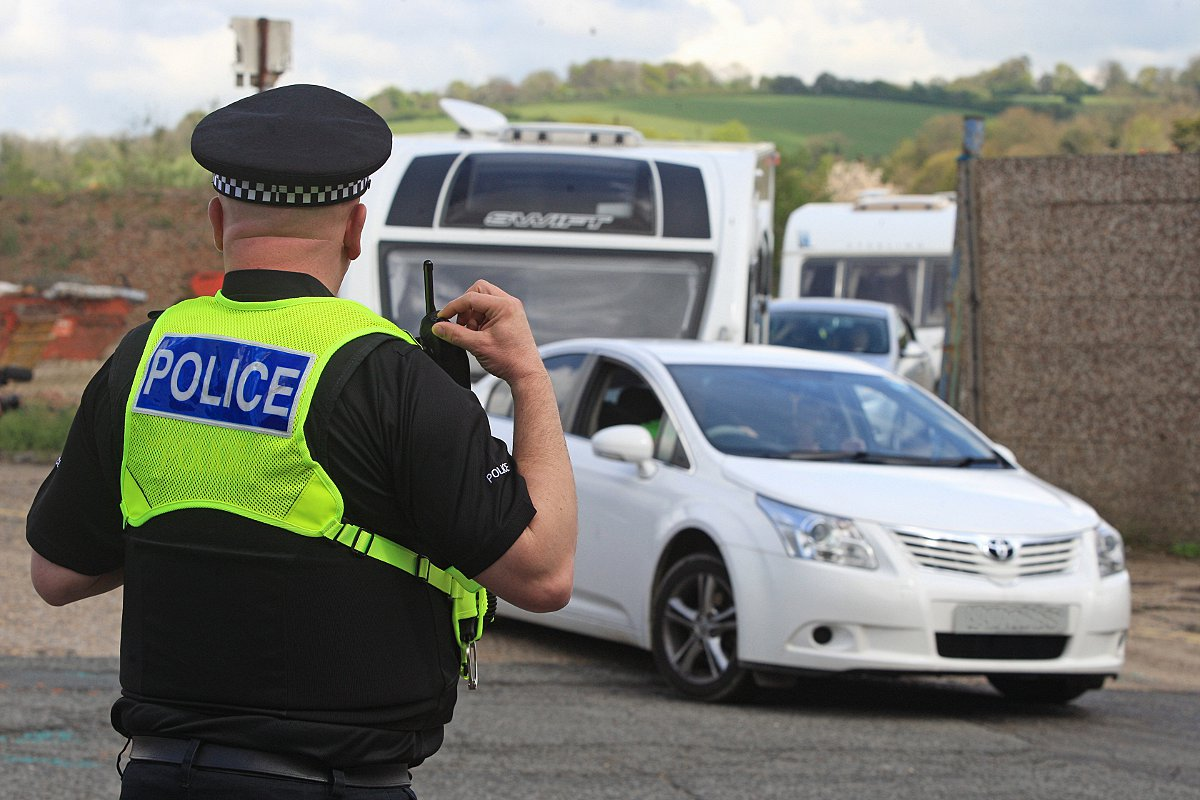 Travellers evicted after illegally entering Wycombe site
