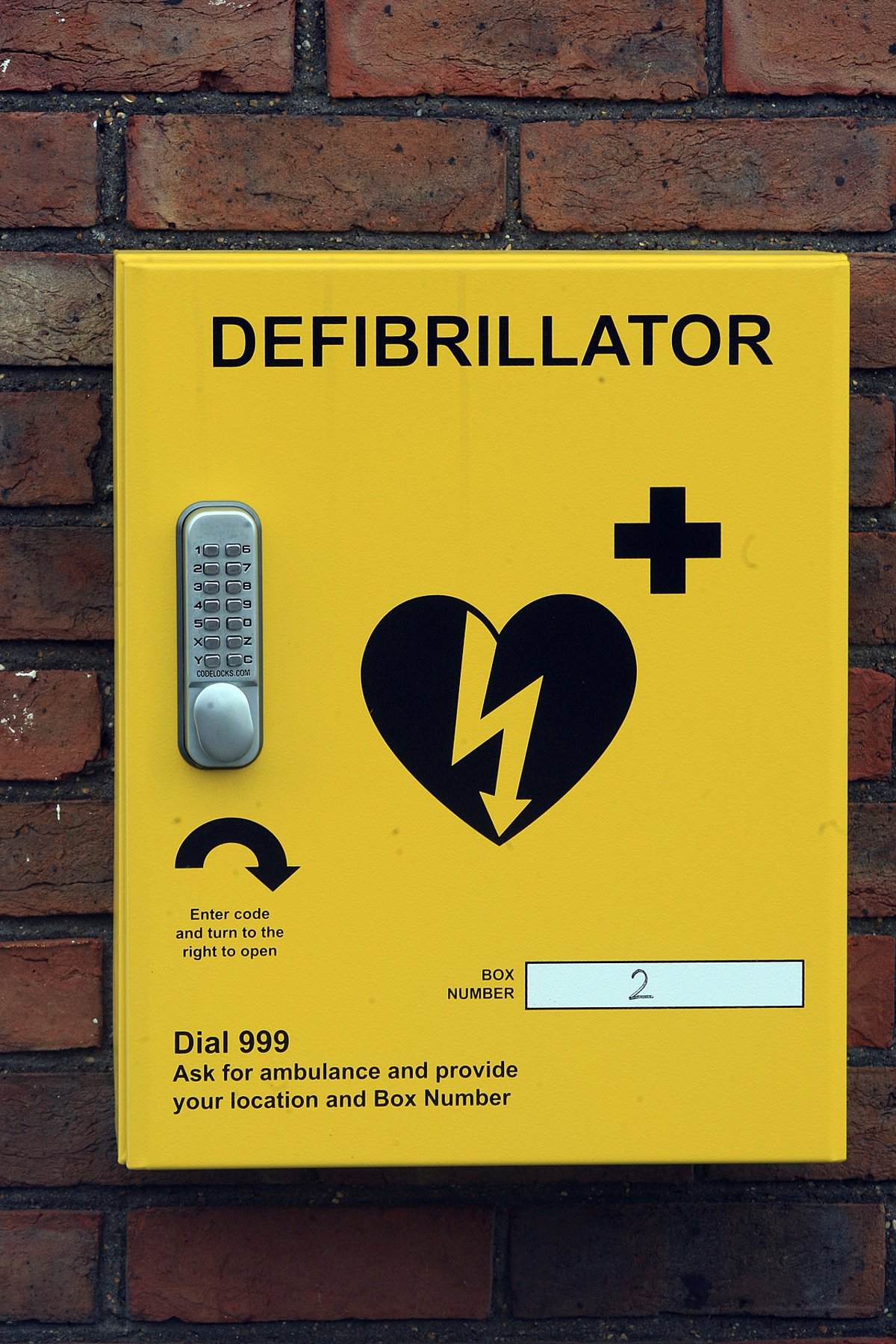 New defibrillators in village could save lives