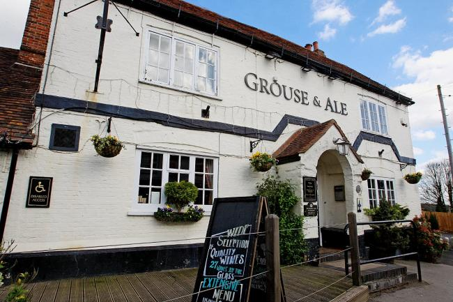The Grouse and Ale in Lane End