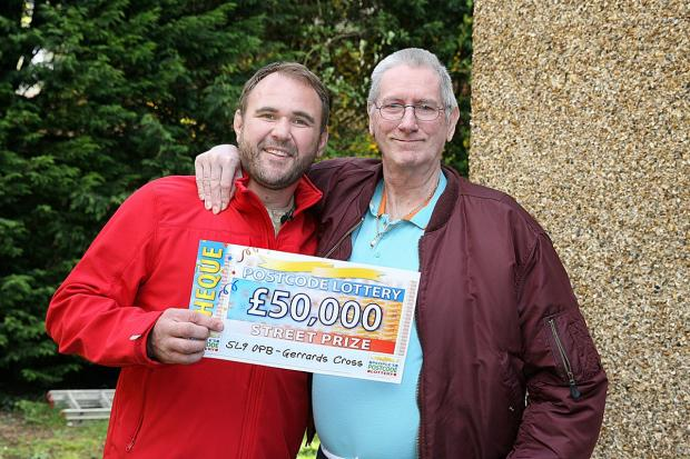 Former builder wins £50,000 thanks to postcode