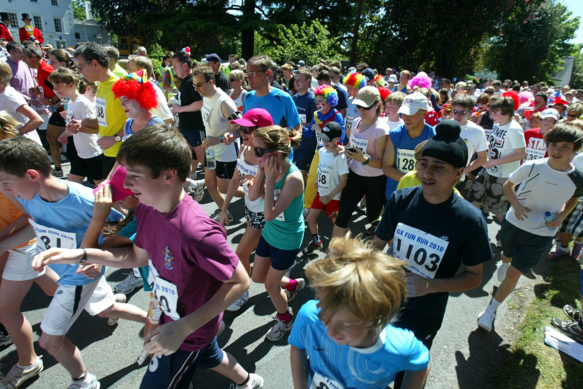 Gerrards Cross fun run