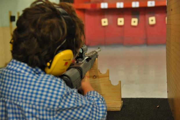 Gun club holds open day for novice shooters