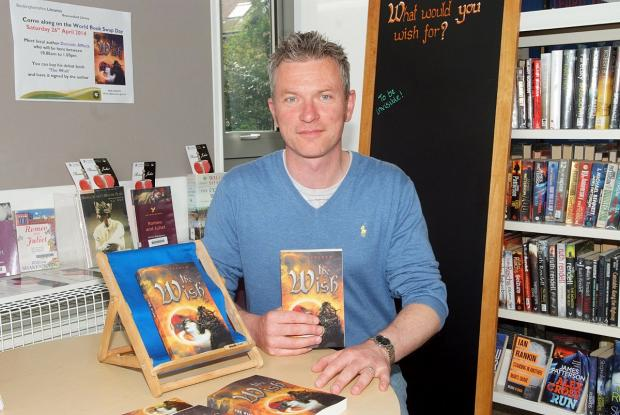 World book night celebrated with Beaconsfield author