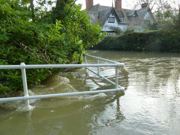 Submerged village questions proposed flood defence scheme