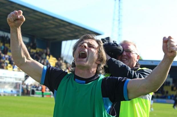 Wanderers manager Gareth Ainsworth