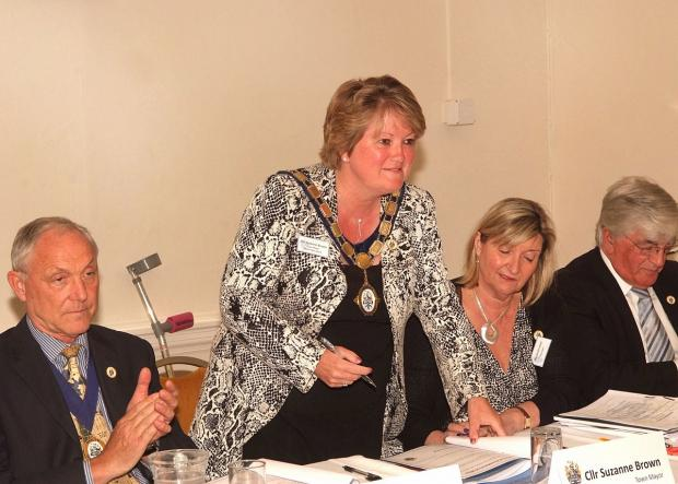 Marlow mayor voted in for a second term