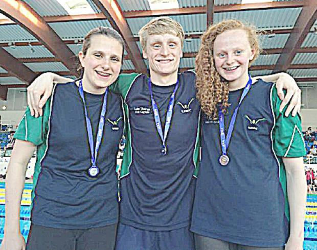Sophie Millen, Luke Thomas and  Fiona Shaw all won medals at the South East Regional Swimming Championships.