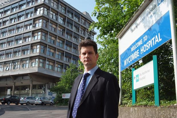 Bucks Free Press: MP: 'Wycombe Hospital could become centre of local health economy'