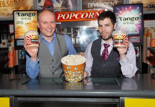 Bucks Free Press: Council worker's fishy cinema treat voted top of the pops