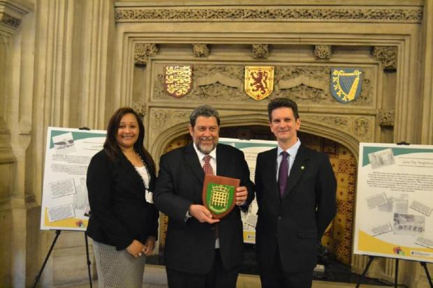 Parliamentary exhibition for SV2G project