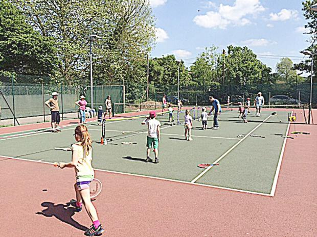Fun for the family at Marlow Tennis Club