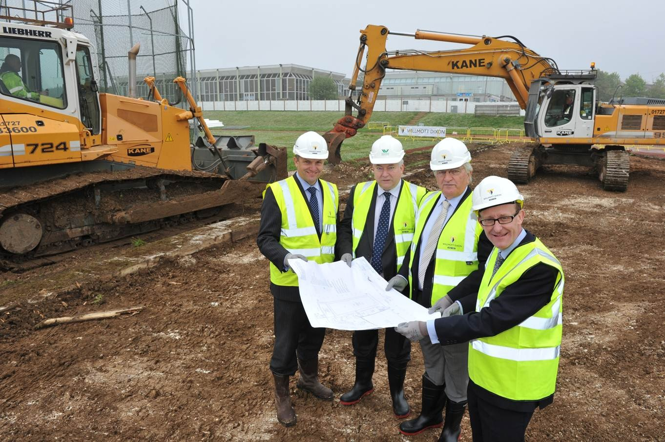 Construction begins on new Wycombe Sports Centre