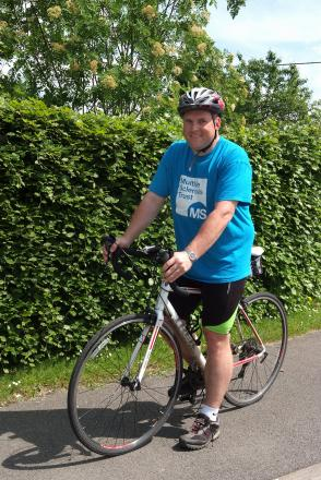 Cyclist with MS takes on 300-mile ride