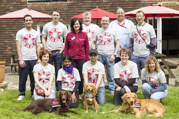 Help is at hand for charity dog workers