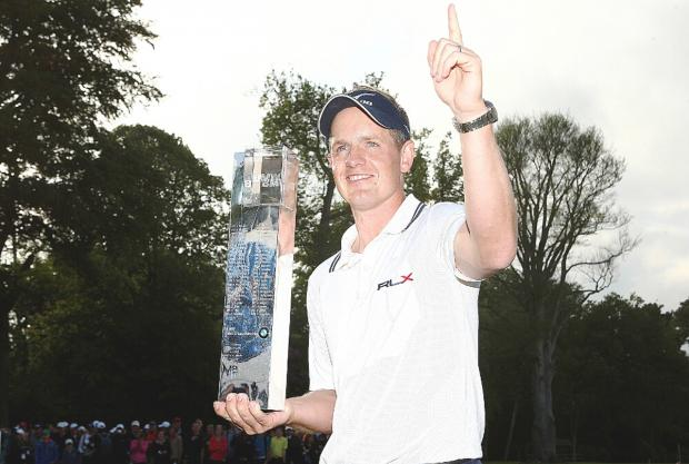 Luke Donald became world number one at Wentworth in 2011