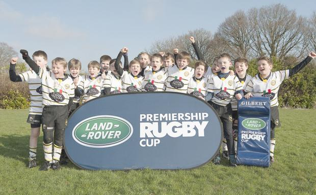 Marlow U11s are going to Twickenham