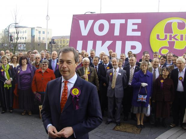Farage and UKIP top the polls in South East