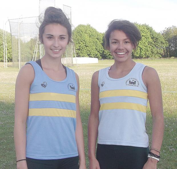 Freya See and Olivia Caesar both won golds in Oxford