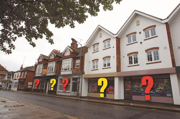 Three of the empty stores on Spittal Street are up for grabs in the scheme, with landlords hopeful it will bring other retailers to the area