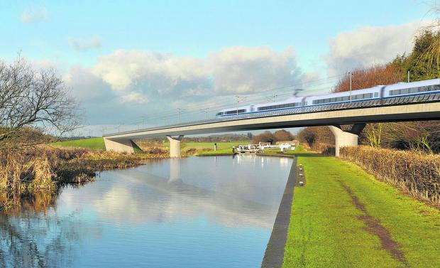 HS2 secures backing from China