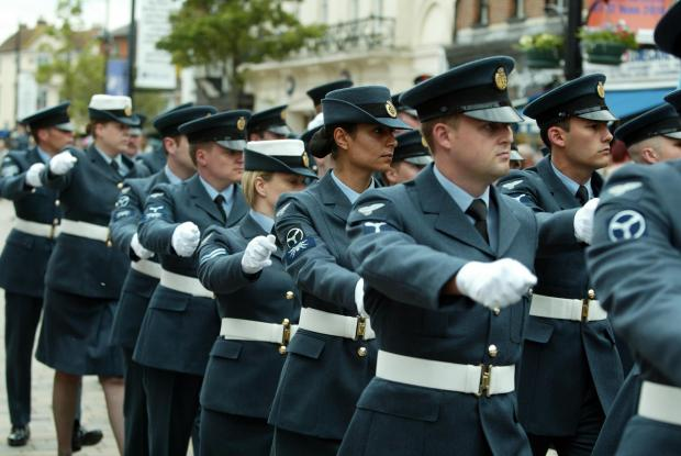 RAF Freedom Parade takes place tomorrow