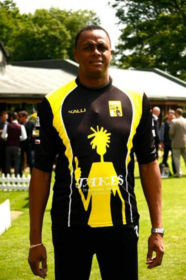 Bucks Free Press: West Indies great and Lashings bowler Courtney Walsh