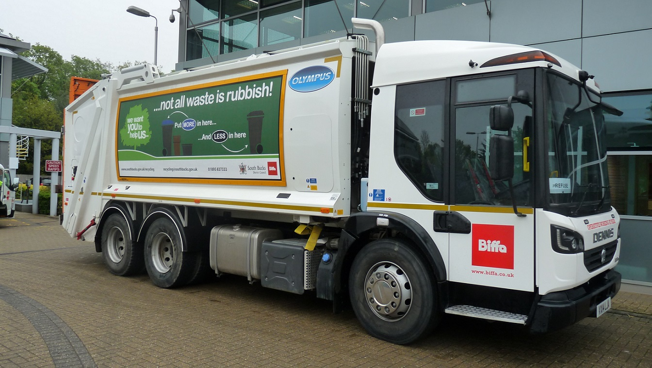 New recycling trucks are the best in the business